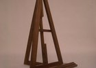 Custom wood easel