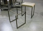 Steel art table