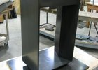 steel open pedestal