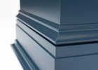 Blue Lacquer, Base trim detail